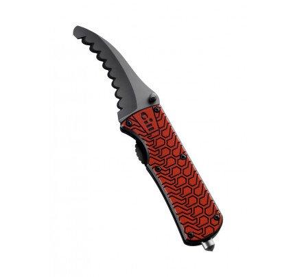 Gill Marine-DG-MT006-RED01-1SIZE Coltello pieghevole con manico antiscivolo-21